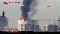 #SONDAKİKA İstanbul Taksim İlk Yardım Hastanesi'nden dumanlar