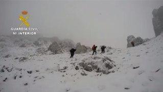 Asi rescataron los cadaveres de los alpinistas fal