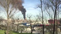Taksim Eğitim ve Araştırma Hastanesi'nde Yangın (2)