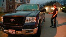 'I Felt Like Marty McFly': Dash Cam Records Lightning Striking Teen's Truck