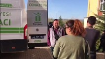 Osmangazi Üniversitesinde silahlı saldırı - Cenazelerin morga nakledilmesi - ESKİŞEHİR