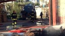 Diyarbakır Organize Sanayi Bölgesi birinci etapta bulunan bir kağıt ambalaj fabrikasında yangın çıktı. Tüm fabrikayı saran yangın nedeniyle olay yerine çok sayıda itfaiye ve ambulans sevk edildi. Dumandan etkilenen 8 kişinin hastane