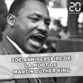 50e anniversaire de la mort de Martin Luther King