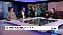 le débat, Incarcérartion de Lula: une manoeuvre politique ?
