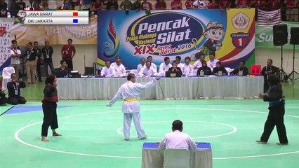 PON 2018 - PENCAK SILAT - JAWA BARAT vs JAKARTA