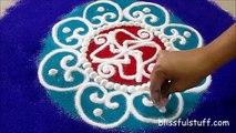 Diwali Special - Sanskar Bharati Rangoli Design, How to draw sanskar bharati rangoli - I