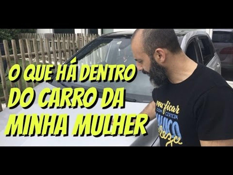 O QUE HÁ DENTRO DO CARRO DA MINHA MULHER - RUI UNAS #11 VLOG PORTUGAL