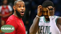 Does LeBron James Have The EASIEST Path To NBA Finals With Kyrie Irving Out? | Huddle