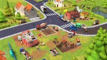 Fun Trucks & Diggers - Play Build Construction Building Little Builders Learn Colors Games for Kids