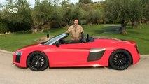 En marcha: Audi R8 Spyder | Al volante