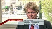 Participar en Europa: Reiner Hoffmann, Confederación de Sindicatos Alemanes   Hecho en Alemania
