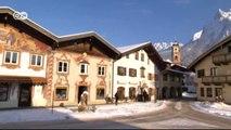 Más allá del esquí: Los Alpes bávaros sobre raquetas de nieve | Euromaxx