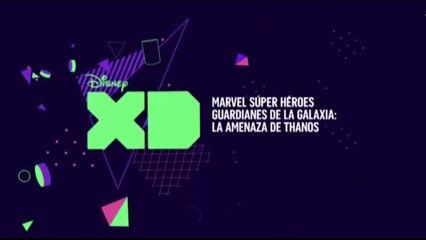 """PROMO 2 """"MARVEL SUPERHÉROES GUARDIANES DE LA GALAXIA: LA AMENAZA DE THANOS"""" EN DISNEY XD"""
