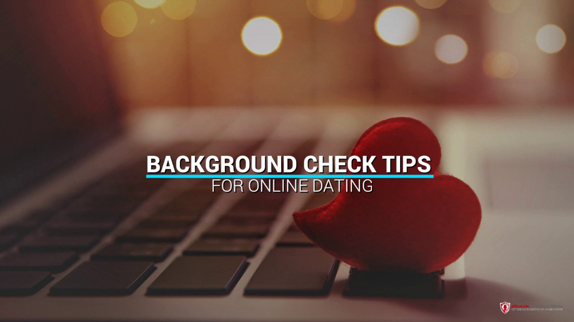 Dating online background check