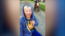 Un enfant de 7 ans se fait arracher une dent de lait par son frère à moto