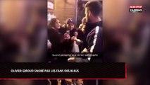 Olivier Giroud vient signer des autographes… mais personne n'en veut ! (Vidéo)