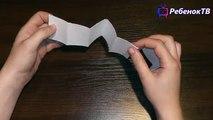 Как сделать гирлянду Звездочка из бумаги