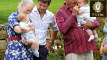 Prince Charles bonds with Princess Charlotte and Prince George and other royals with their grandchil