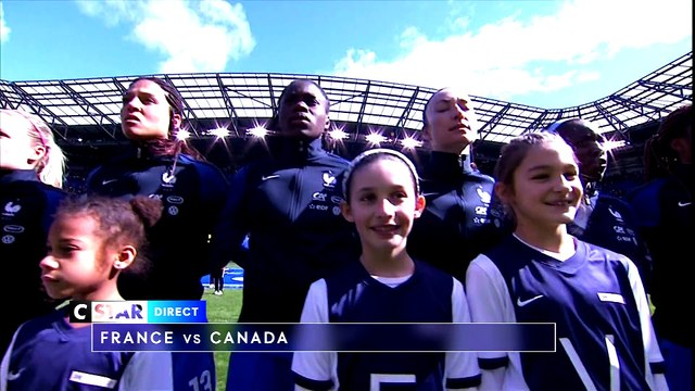 CSTAR FOOTBALL FEMININ FRANCE-CANADA LUNDI 9 AVRIL A 20H55