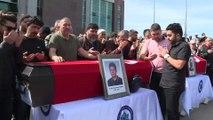 Osmangazi Üniversitesindeki silahlı saldırı - Üniversitede cenaze töreni - ESKİŞEHİR