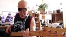 Jeff Lorber Hyperdrive HD720 m2 Basscover Bob Roha