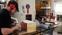 Make A Bandsaw Box Clock With Hidden Storage - 116
