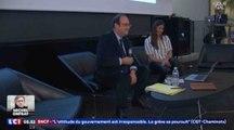 À l'université de Cergy, François Hollande fait de l'humour - ZAPPING ACTU DU 06/04/2018