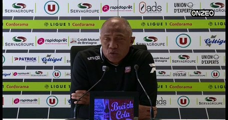 POINT PRESSE (EAG) : AVANT GUINGAMP - TROYES