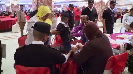 أكاديمية الشرطة تنظم حملة للتبرع بالدم بمستشفى قصر العيني
