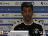 (J29) Laval - Grenoble, le point presse avec M. Pires