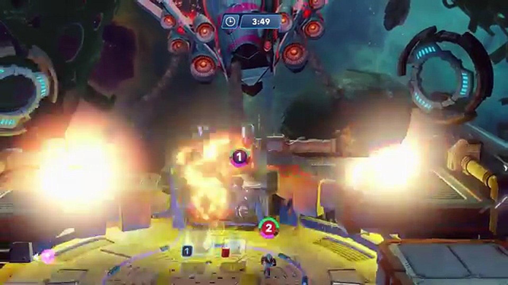 Yondu VS Groot Marvel Battlegrounds Disney Infinity 3.0