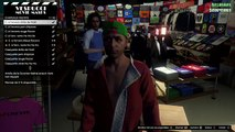 GTA 5 DLC NOEL : NOUVELLES TENUES, MASQUES, CHAPEAUX .. GTA 5 ONLINE