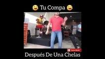TU COMPA DESPUES DE UNAS CHELAS/INTENTA NO REIRTE