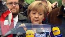 La canciller Angela Merkel en las regiones afectadas | Berlín político