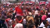 Celebración y protestas tras el golpe militar en Egipto | Journal