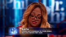 How Did They Harvest Your Eggs? Asks Dr. Phil Of Guest Who Claims She Has Kids With Tyler Perry