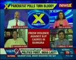 BJP alleges TMC goons attacked BJP candidates; TMC refutes attacking BJP cadres — The X Factor
