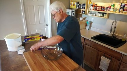 How to Bake No-Knead Bread in a Poor Mans Dutch Oven (no mixer… no bread machine…)