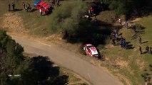 WRC Tour de Corse 2018 SS02 Loeb Crash