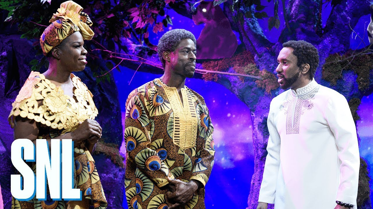 """""""Black Panther"""" Makes Killer SNL Appearance + More Stories Trending Now"""
