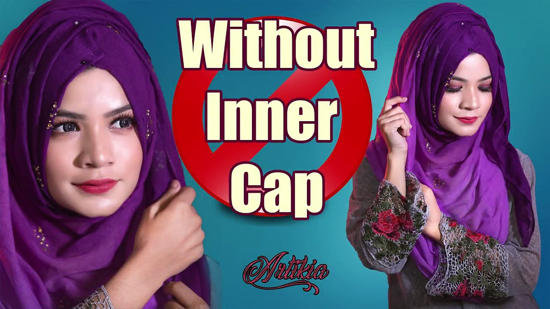 How To Wear A Hijab Simple Tutorial Without Inner Cap For Beginners Video Dailymotion