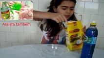 Como fazer AMOEBA sem cola, Sem Borax, sem água Boricada, Sem bicarbonato, com maizena e detergente