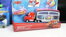 Disney Cars Lightning McQueen Color Changer and Hot Wheels Color Shifters Toys Review