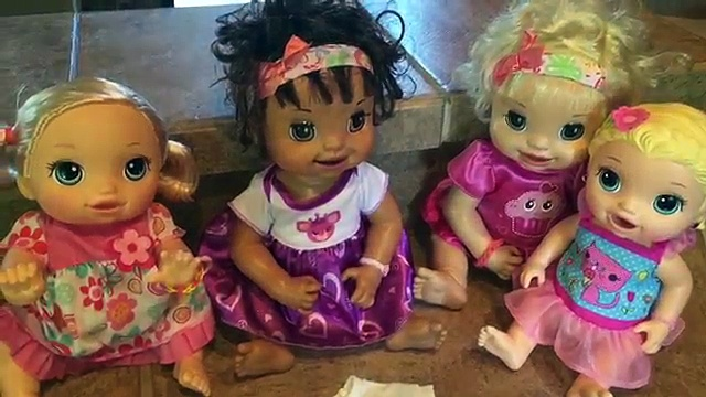 Baby Alive making tie dye shirts for the babies PARTIAL FAIL