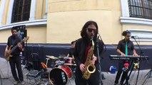Artista Callejero: Jazztick en Santiago de Chile