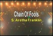 Aretha Franklin Chain Of Fools Karaoke Version