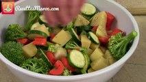 Gratin de Légumes & Béchamel - Vegetable Casserole Dish with Bechamel - كراتان الخضرو بيشاميل لذيذ