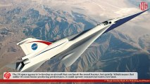 NASA's X-Plane Breaks Sound Barrier Quietly