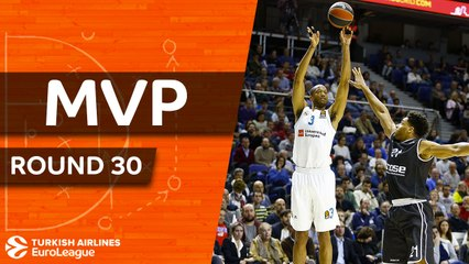 Round 30 MVP: Anthony Randolph, Real Madrid