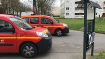 Impressionnante intervention des pompiers de Rennes